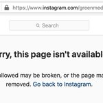 Image for the Tweet beginning: Instagram deleted the account of