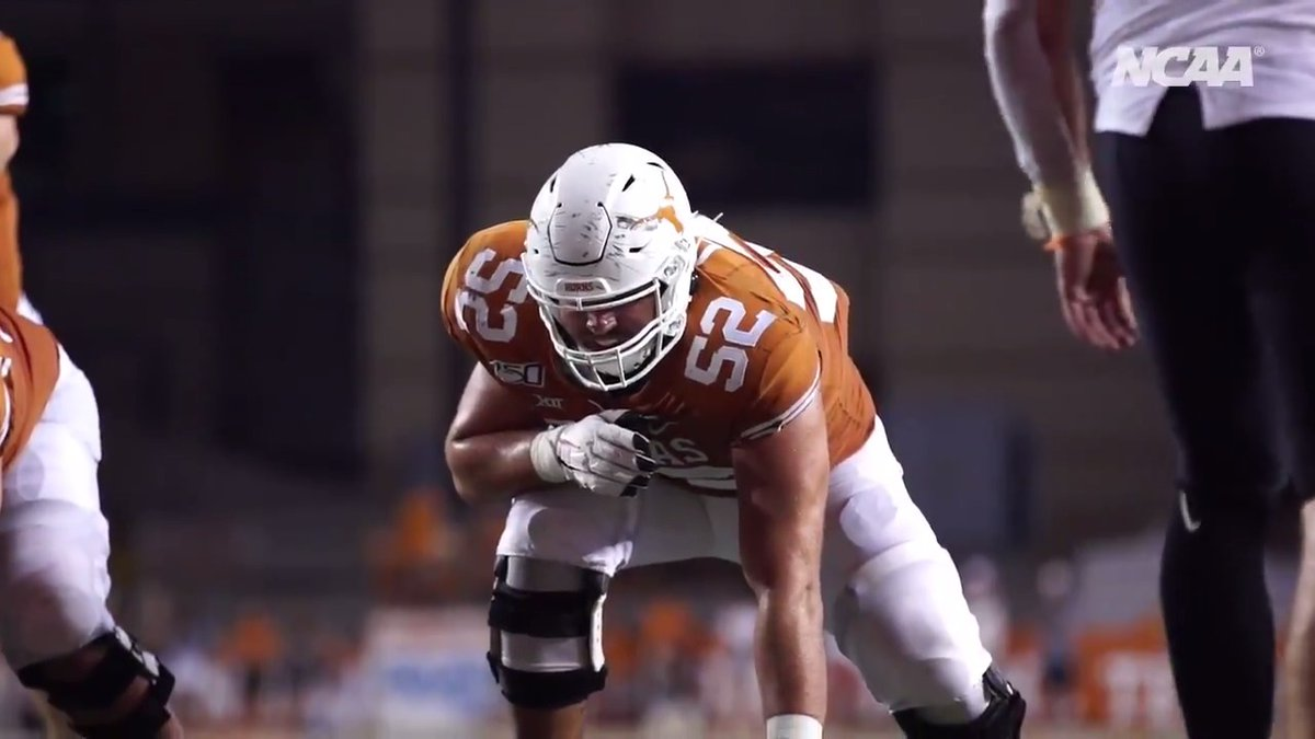 If youre going through something, talk to somebody. Find somebody. @TexasFootball offensive lineman @SamCosmi found the importance of mental health through conversations with his girlfriend.