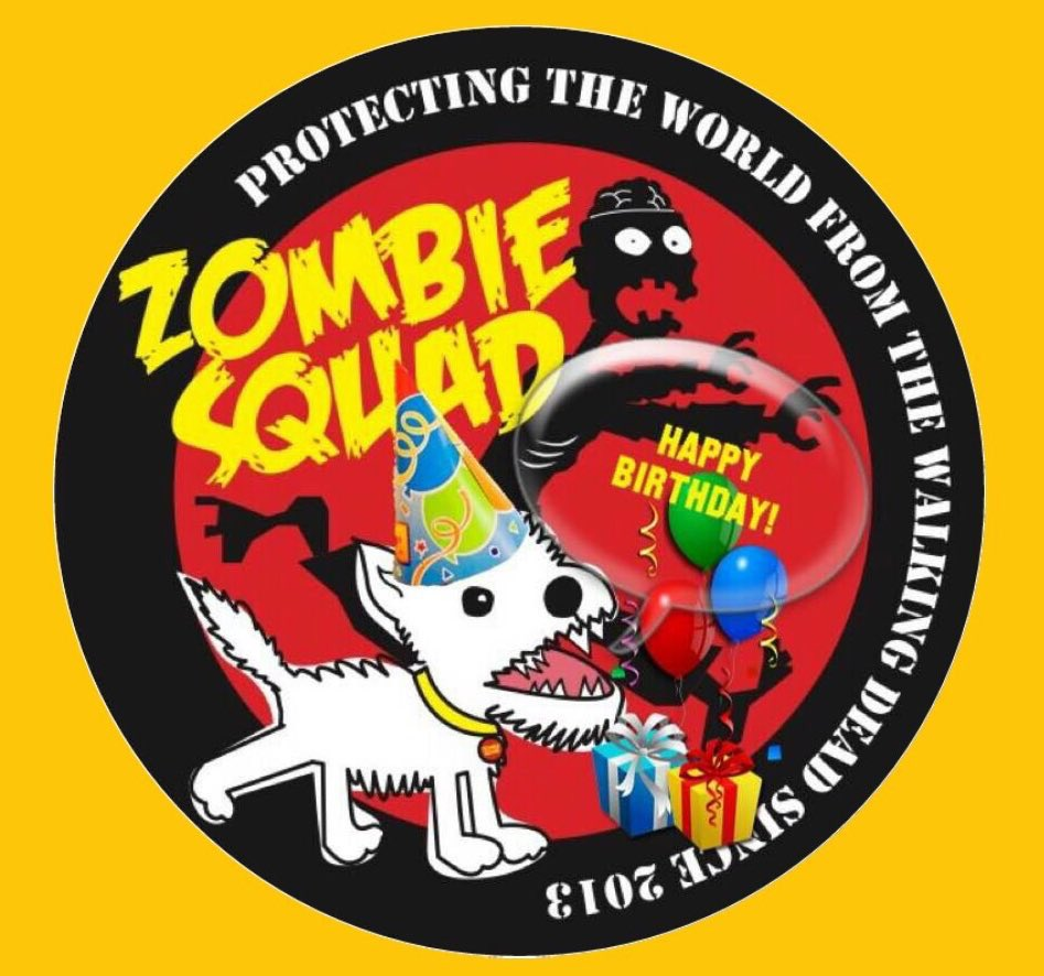 🎂Wishing a very🎈HAPPY BIRTHDAY🎉 to FRED & LING's MOM.🎁 We hope you have a pawtastic time celebrating your special day, pal. RaaAAA!! 💜🎂🎈🎁🍾🥂🍸🎉 @carsenault5 @ZombieSquadHQ #ZSHQ https://t.co/zoForton1t