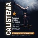 Image for the Tweet beginning: ➕ Actividades Calistenia! En Septiembre nueva actividad! Si