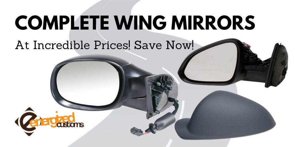 Get your complete wing mirror replacement here - https://t.co/4lIGDa1a7o #energizedcustoms #wingmirror #carparts #Vehicle #mirror https://t.co/M6EpAq9qBW