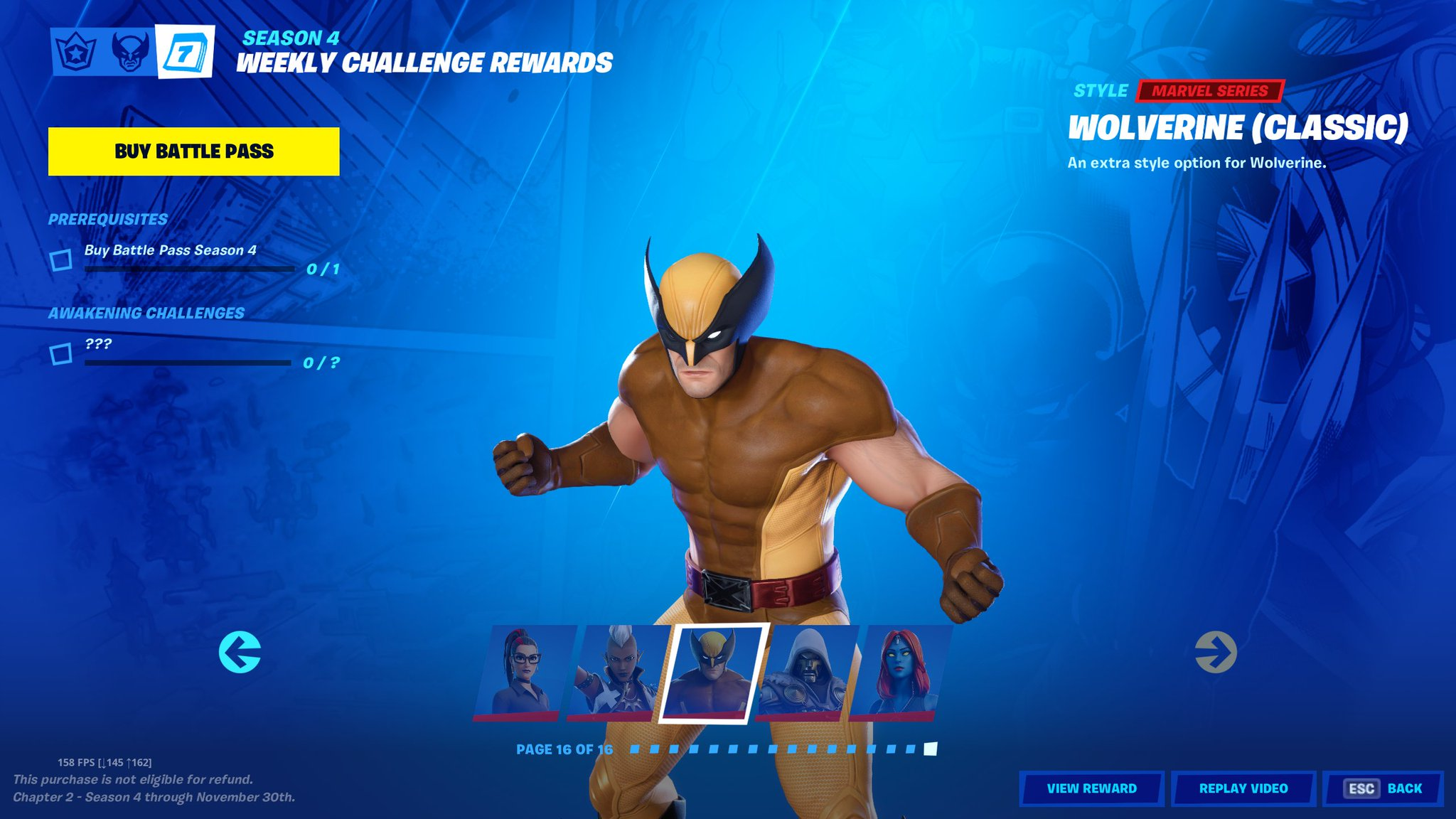 Shiinabr Fortnite Leaks On Twitter Thor Is Tier 1 And This Is The Last Battle Pass Stage Credit Me M1fnbr