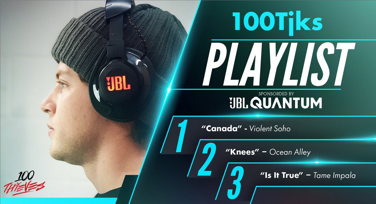 jks - Ever wonder what I'm listening to before a match?   Here's my summer playlist, presented by @JBLaudio: