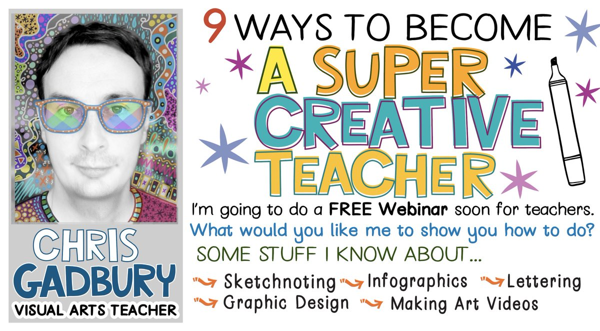 I'm going to be doing a FREE Webinar for teachers soon. What tips or skills would you like me to share? https://t.co/2Nu5v4iSaq