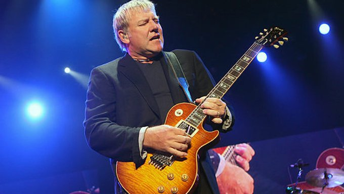Happy birthday to Alex Lifeson,  he was born on August 27, 1953.