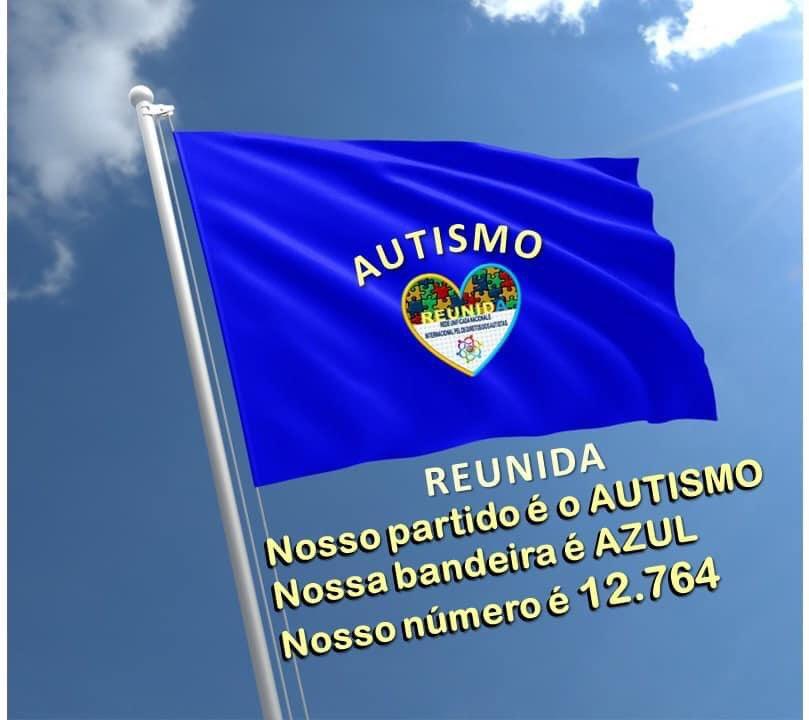 """@reunidaoficial é apartidária: a Associação Nacional e Internacional pelos Direitos dos Autistas apoia quem apoia o autismo! Nosso """"número"""" é o 12.764, da Lei de Proteção Nacional aos Autistas! 🙌🏼💙🧩@reunidaoficial"""