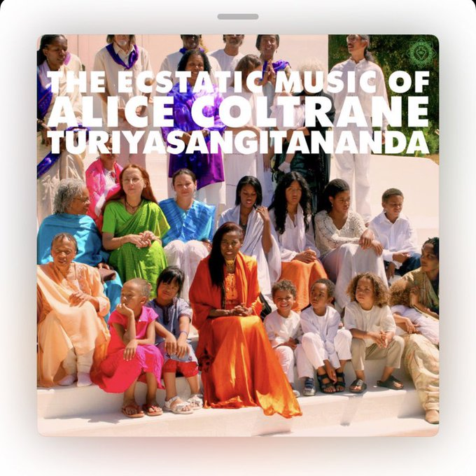 Current companion Happy Birthday Alice Coltrane 1937 (d.2007).