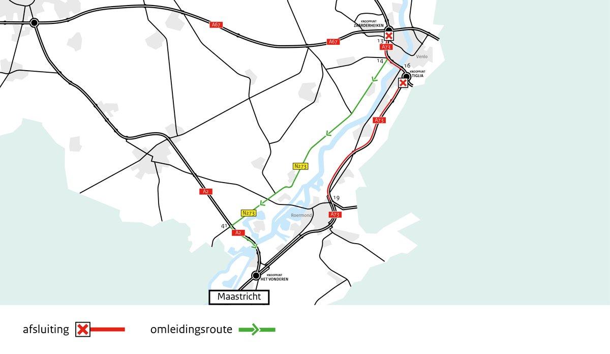 Let op: dit weekend zijn er wegwerkzaamheden op de A73 richting Maastricht, bij en nabij afrit 16 Venlo-Zuid. Daardoor is VieCuri locatie Venlo van 28 – 31 augustus minder goed bereikbaar. Kijk op https://t.co/WSN3NOfpd0 voor meer informatie en een alternatieve route. https://t.co/84du4OquIi