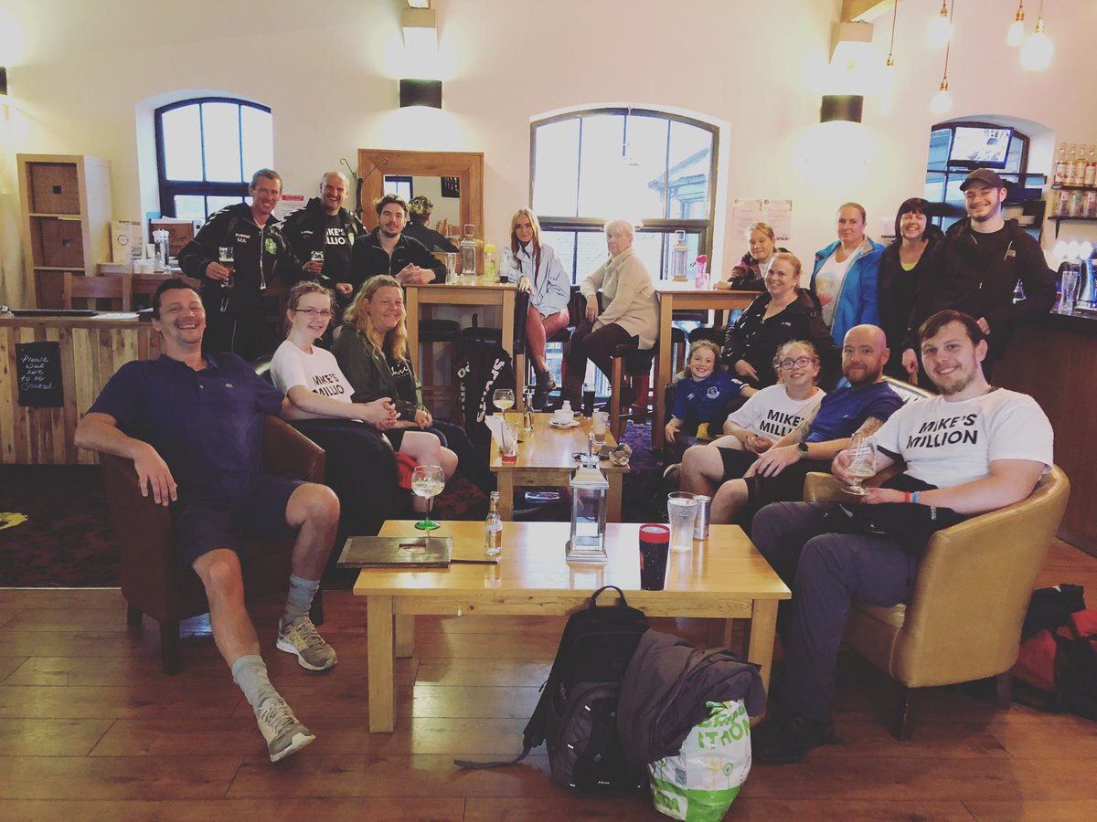 Spent last weekend with an inspirational bunch of people. Same again this weekend and the final walk of #MikesMillion https://t.co/FzSUyHwxRv