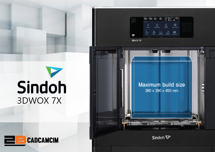 MASSIVE PRINT SIZE SUITED FOR INDUSTRIAL 3D PRINTER 3DWOX 7X is an industrial grade 3D printer with a maximum build size of 380 x 390 x 450mm. It can be used for industrial or commercial applications Place your order: UAE+97145081501  KSA+966538452813 #SINDOH #Industrial3dprinter https://t.co/bSEthJuIBW