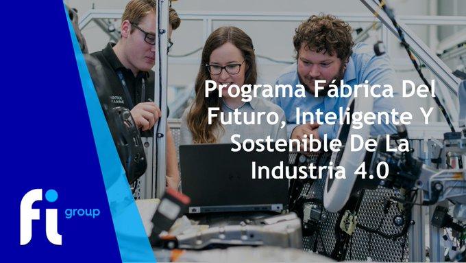 La Agencia Gallega de  ha convocado «Ayuda para el programa Fábrica del futuro, fábrica intel....