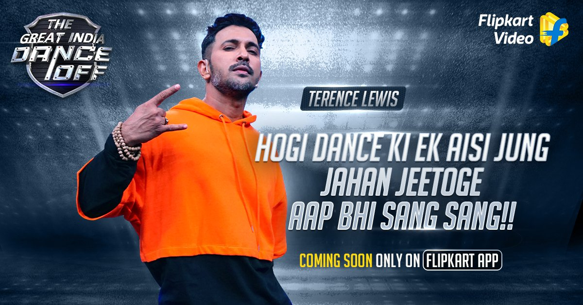 Ek aisa stage, jahan India ke best performers karenge dance, aur aapko milega jeetne ka chance! Coming soon with none other than @terencehere only on @FlipkartVideo on the #FlipkartApp.  #TheGreatIndiaDanceOff #DanceShow https://t.co/y4Rpzai8AJ