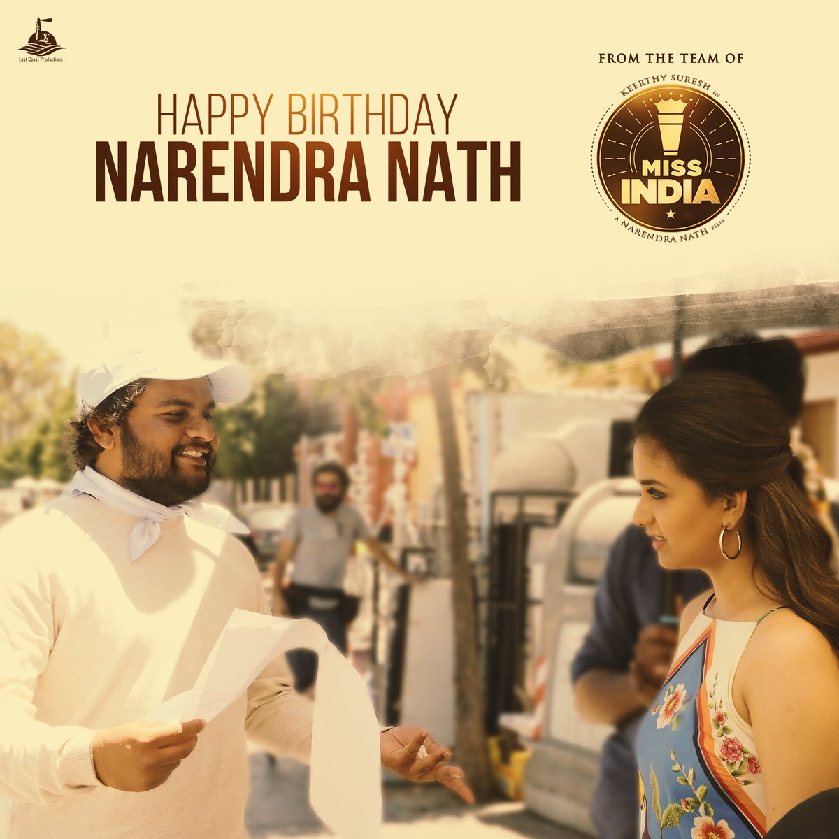 Happy Birthday @NARENcloseup Wishing you a blessed year ahead 😊❤️  #MissIndia https://t.co/9em7FyDLA6