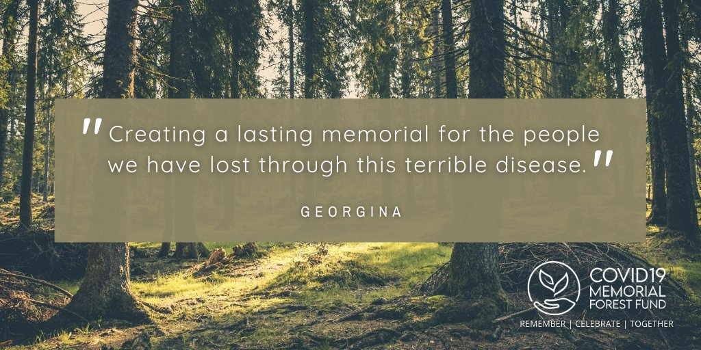 😍 What our supporters say...  Please retweet and follow our page to find out more 👍  #Covid19MemorialForestFund #Covid19Memorial #MemoryTrees #GreenRecovery #ForestOfMemories 🍂🌲 https://t.co/DuNPClegTa https://t.co/R6MzKKIQl0