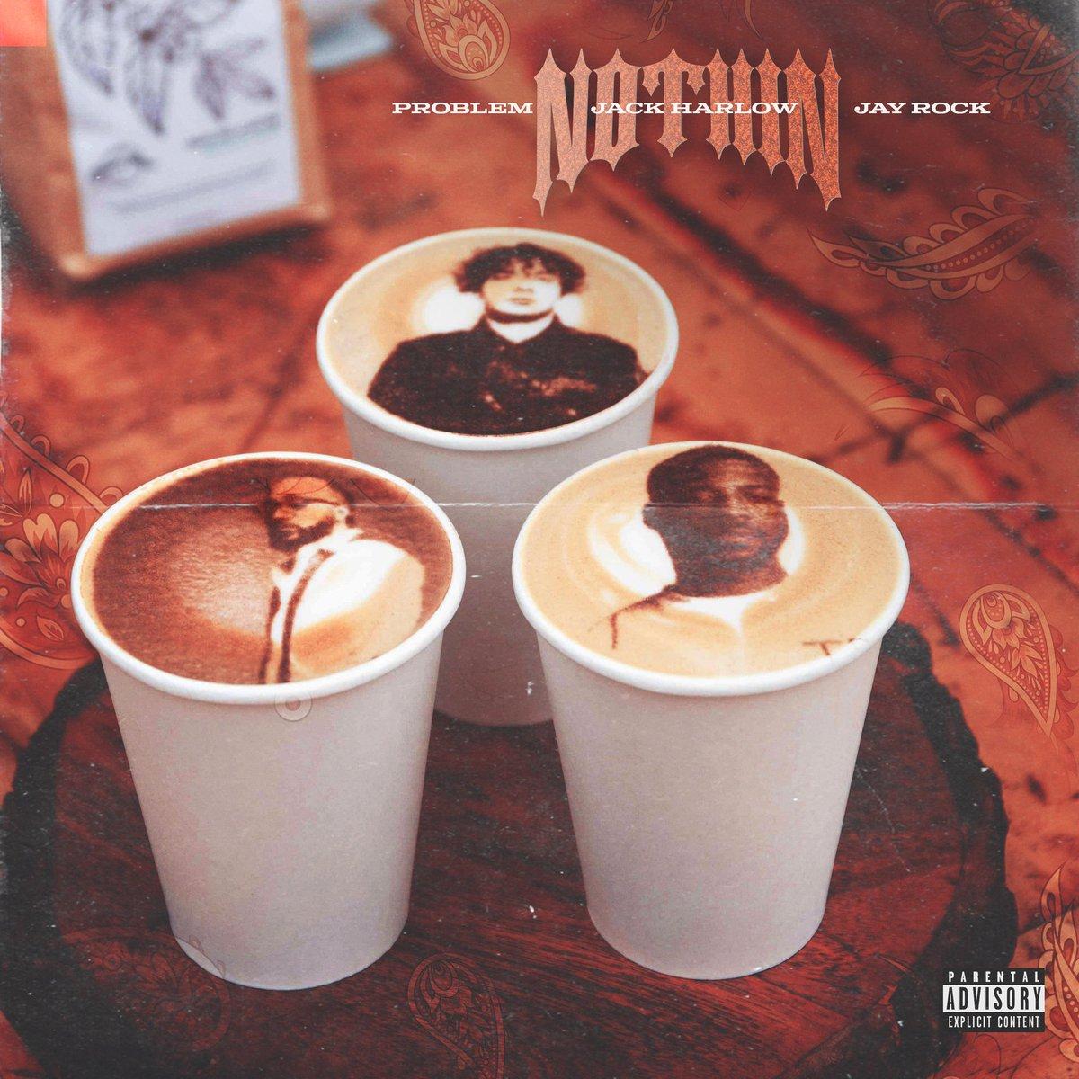 """""""NOTHIN"""" feat @jackharlow & @jayrock 9pm TONIGHT"""
