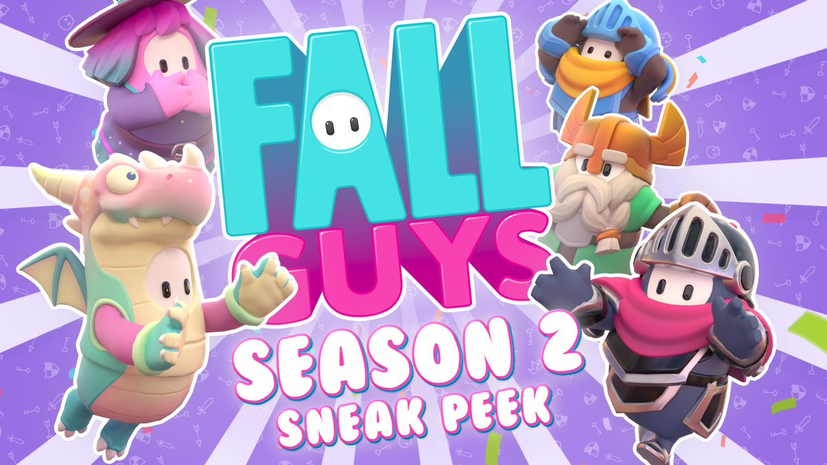 """RETWEET COMPETITION 👌 RT this tweet 👌 Follow us 👌 Reply and say """"Fall Guys Season 2 is """" and then tap the middle button on your phone a few times until its funny  There will be 10 winners!  Prize is either: * A Steam Key for the Fast Food DLC * 5 crowns gifted to your account https://t.co/rV3vwbHNCO"""