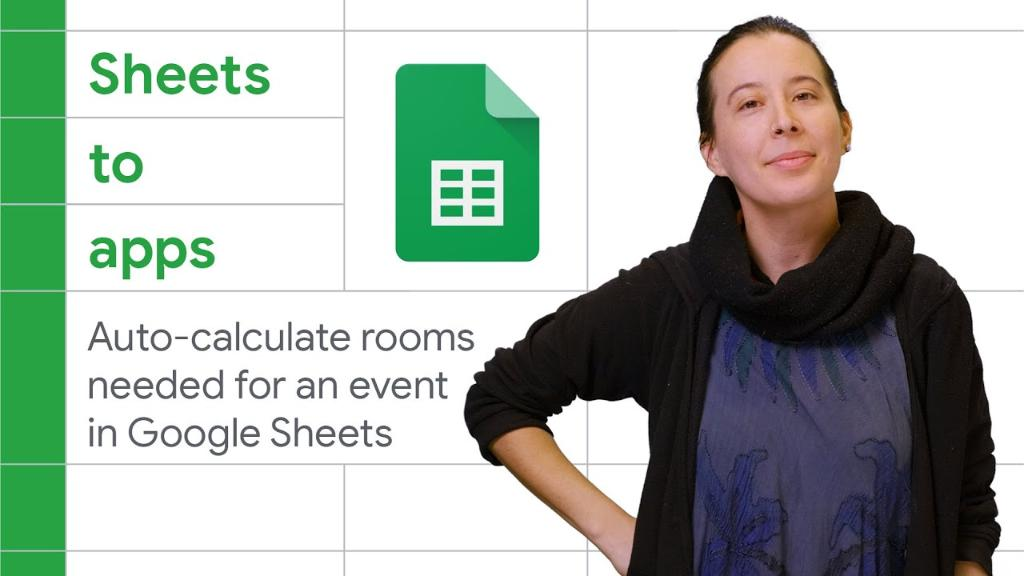 🖥 Create personalized functions in sheets   In this episode of Sheets to Apps, learn how to create a personalized formula using JavaScript to auto-calculate rooms needed for an event.   Check it out → https://t.co/DIPeFihQV2 https://t.co/13Q5hE1AzS