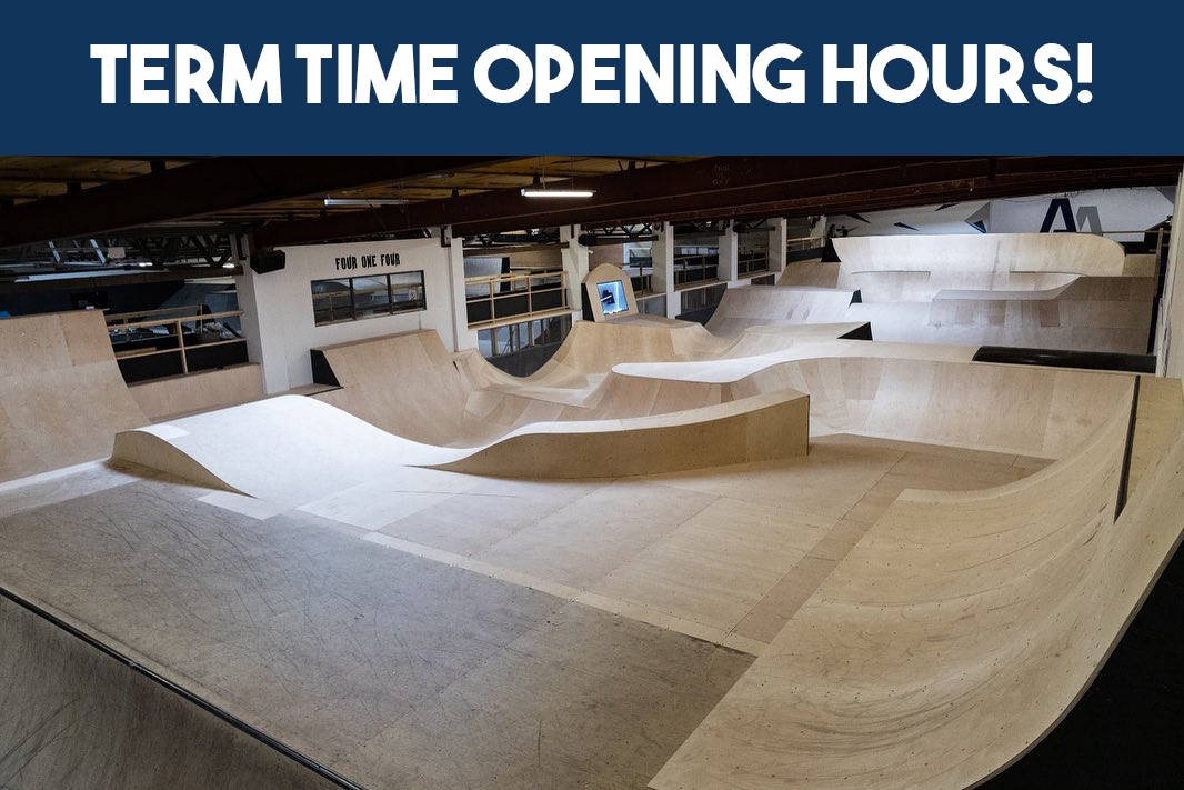 ⚠️Customer Notice⚠️  As of 2nd September we will be switching to our 'Term Time' opening hours. This means we will be open Thur-Sun (12:00-20:30) with an additional scooter only session (8:30- 11:30) on Sat mornings. Click here for details!⤵️  https://t.co/GLbouiWbiH https://t.co/csE8OTDgdd
