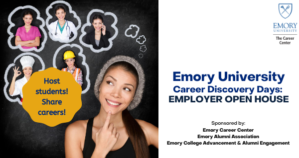 Employer Open House - Emory Career Discovery Days