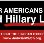 Image for the Tweet beginning: Judicial Watch is still working