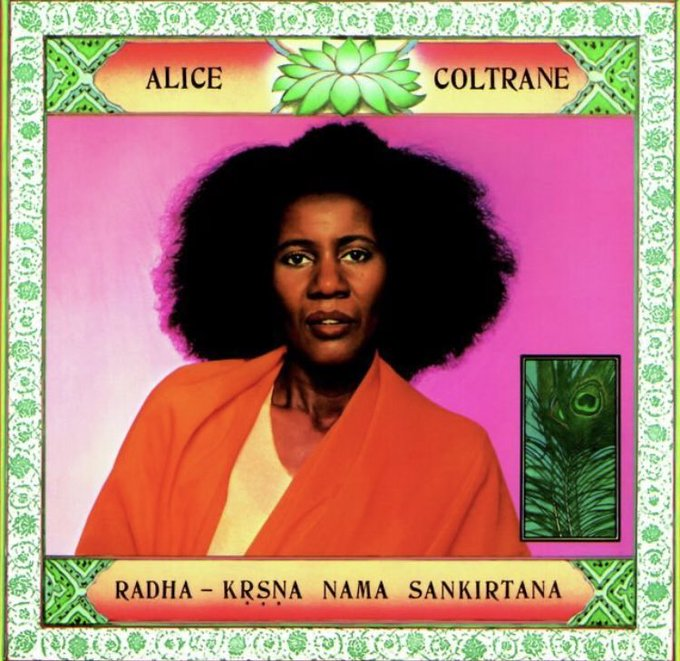 Happy Birthday to the only actual genius to walk this earth Alice Coltrane