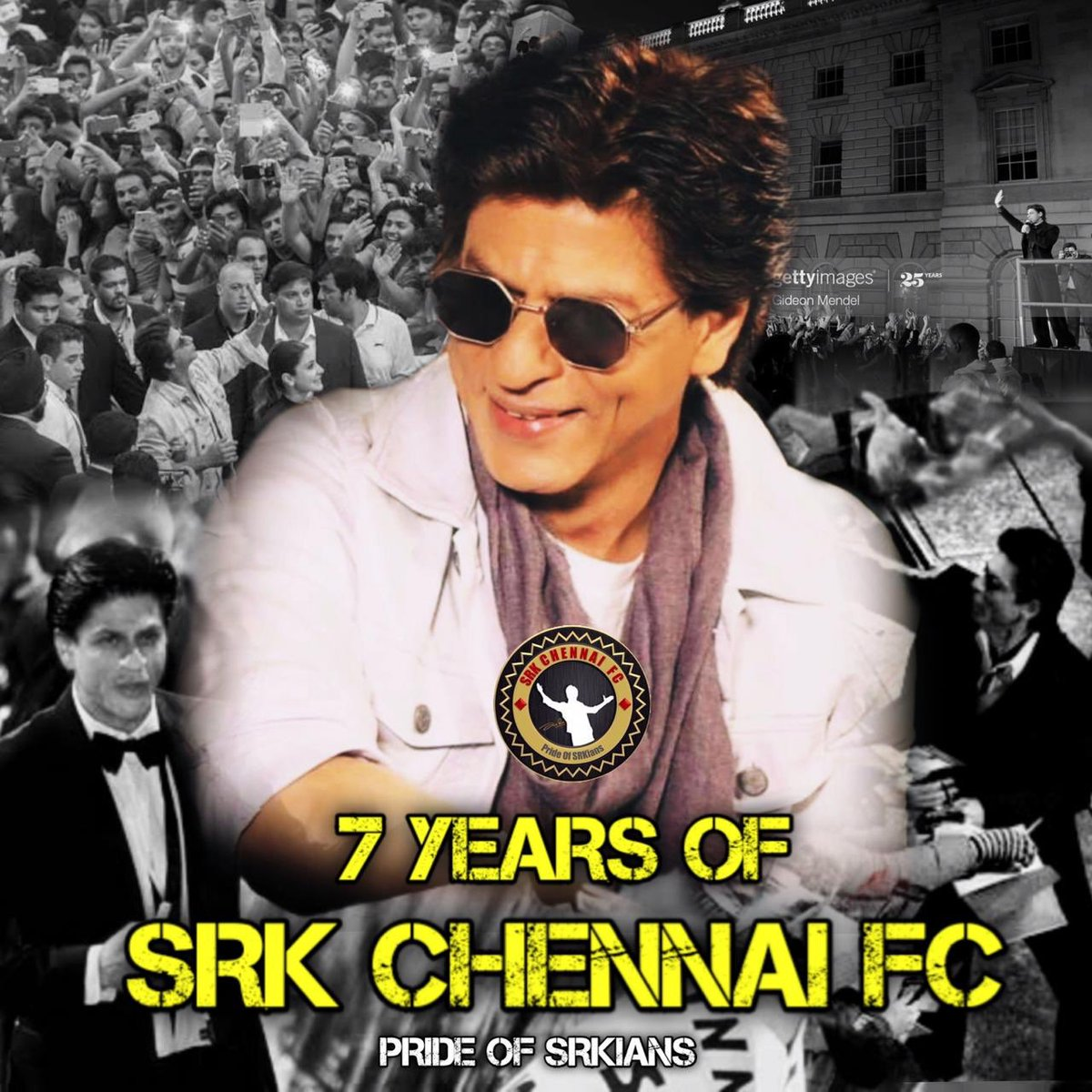 Its been a lovely #7YearsOfSRKCFC journey!❤️  Thank you so much @iamsrk sir for ur love, support & blessing always! You are our world and you mean everything to us! We love u unconditionally✨  Thank u to SRK fans, our SRKCFC memebers for ur love, trust & support! It means a lot. https://t.co/GNXqFPSaZl