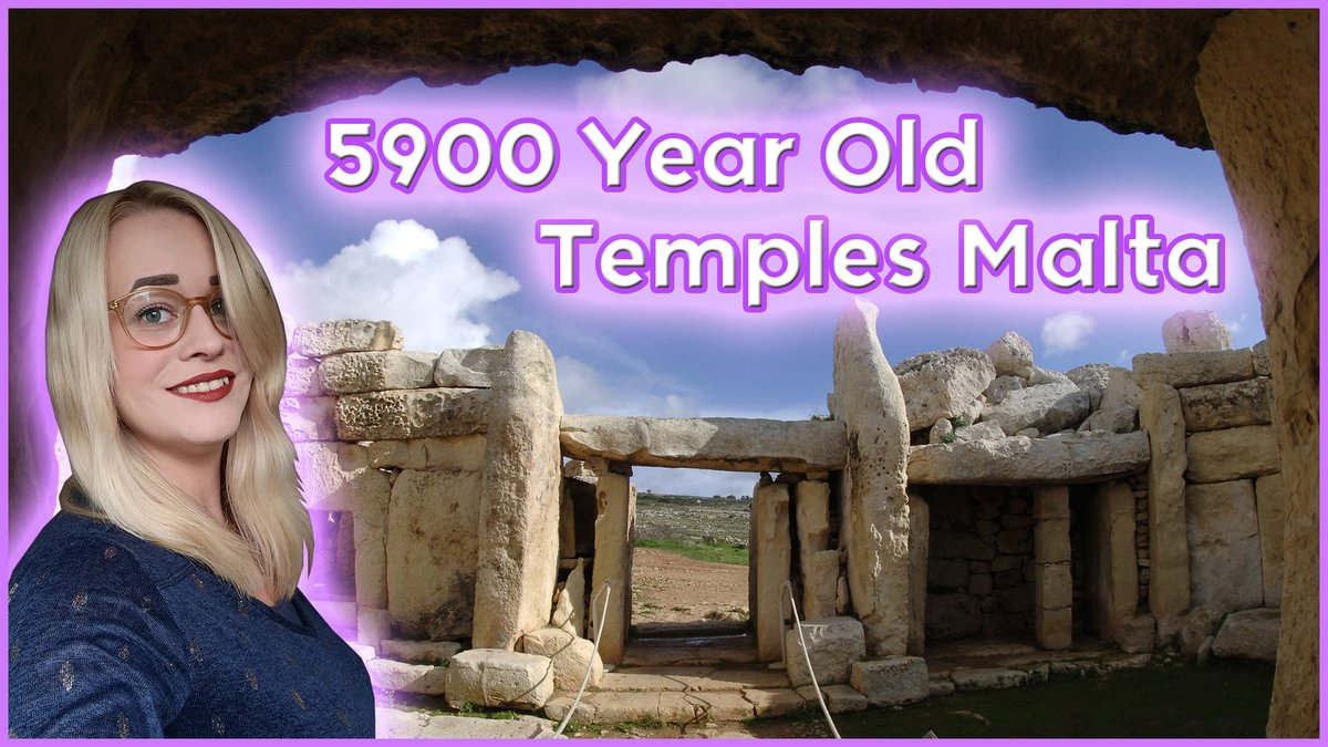 I've made a video about the #Mnajdra Megalithic temple complex on Malta.  It's 5600 years old & in a good condition because of the preservation methods.  Join me, subscribe for more and share with your friends🥰  https://t.co/KHWXBEekhF https://t.co/aC9S9XZCSV