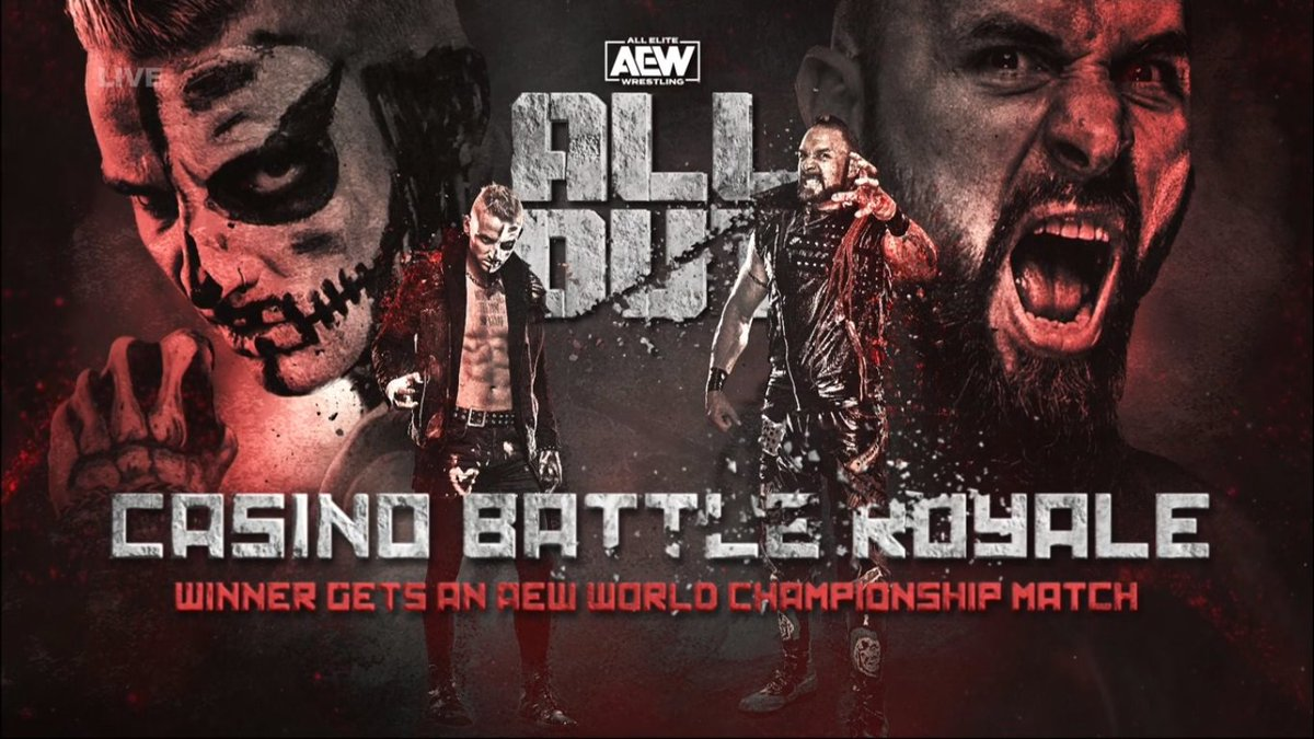 Casino Battle Royale Announced For AEW All Out