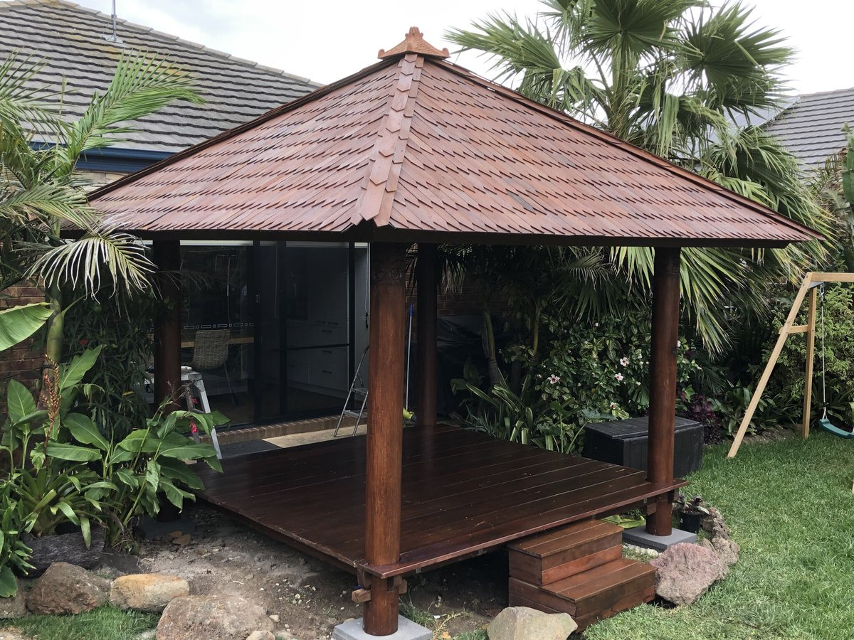 Our ORIGINAL Bali huts are made from Coconut wood and built in Indonesia If you want the REAL DEAL, contact us! Be Different, Be Unique, Shop #balimystique https://t.co/co05V6EzdT #balihut #baligazebo #coconutwoodhut #lakesentrance #paynesville #nowranowra #bairnsdale #eaglepoint https://t.co/OzwMm6zMTd