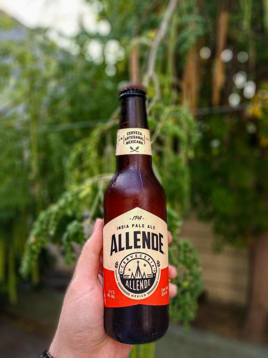 Cerveza Allende, la encontramos en un Super 7 en el centro de Monterrey, costo $41, cerveza estilo india Pale Ale   ¿A qué les supo? https://t.co/U7HI57xUgq