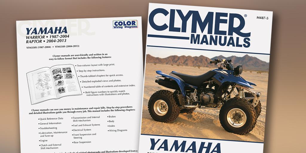 Yamaha M487-5 Clymer Manuals Throttle Position Automotive ...