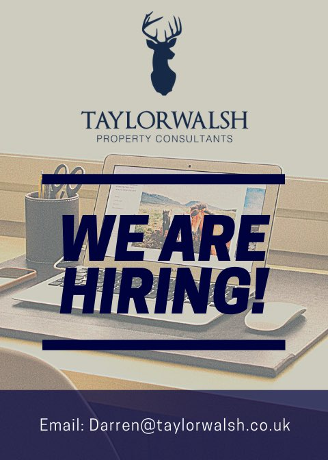 We are looking for an experienced property consultant to join our fantastic @TaylorWalshLinc team.   Applicants must be driven, great with people and must be able to drive. A fantastic package awaits the right candidate.   Please send your CV to darren@taylorwalsh.co.uk https://t.co/euCPQglRig