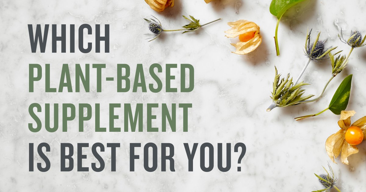 With SO much information out there, choosing the best supplement can be overwhelming. Find your perfect plant with our Plant Finder quiz! Get your results today by clicking on the link: https://t.co/U69bYtPYea #PlantFinder https://t.co/HLDQbw2x2T