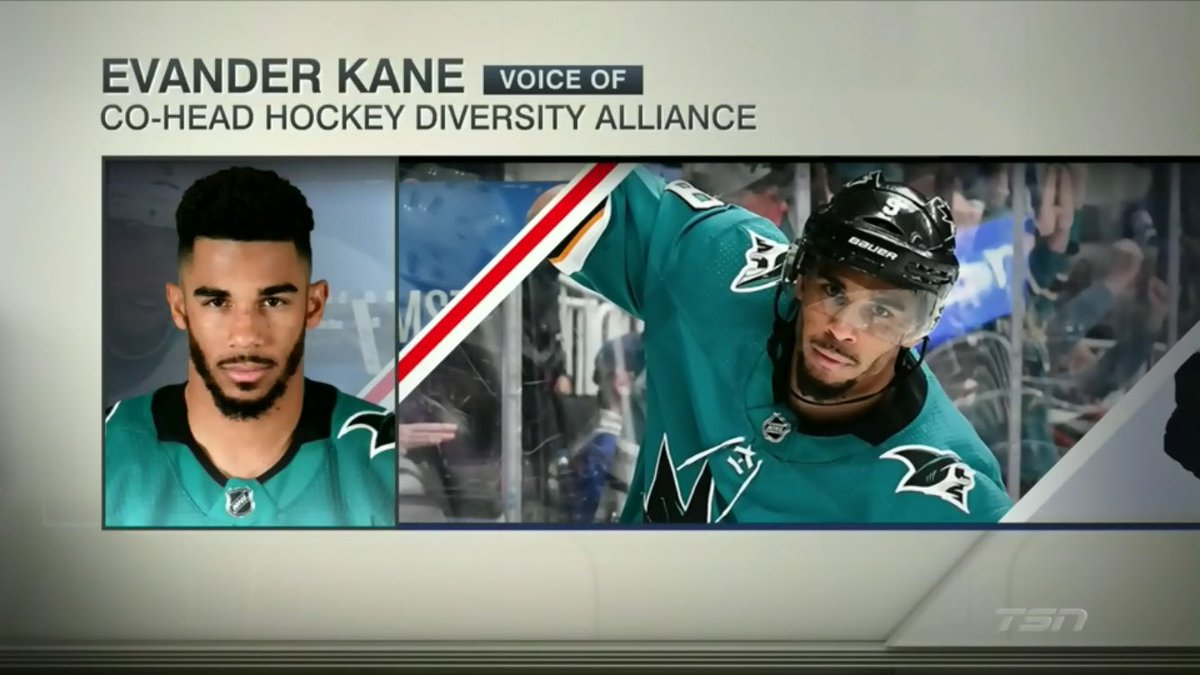 Tsn Hockey On Twitter We Re Once Again Late To The Party Co Head Of The Hockey Diversity Alliance Evander Kane Believes That The Nhl Should Be Leaders And First To The Party In