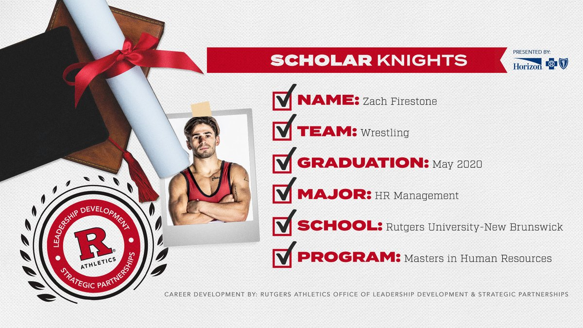 The pursuit of academic excellence continues for these #ScholarKnights who've chosen to further their studies in graduate school! 🎓📚  Presented by @HorizonBCBSNJ https://t.co/U5BVE3lxhc