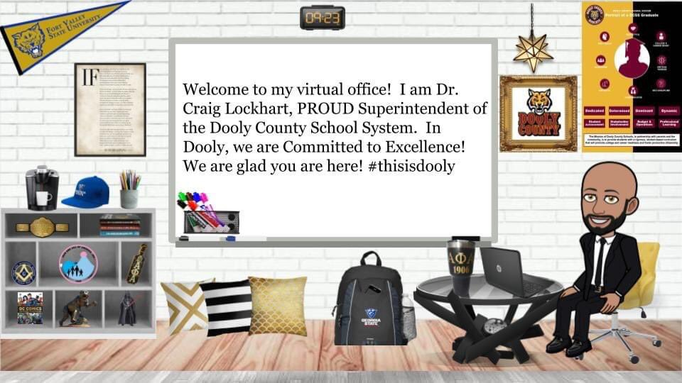 Ready to teach and learn virtually! #thisisdooly