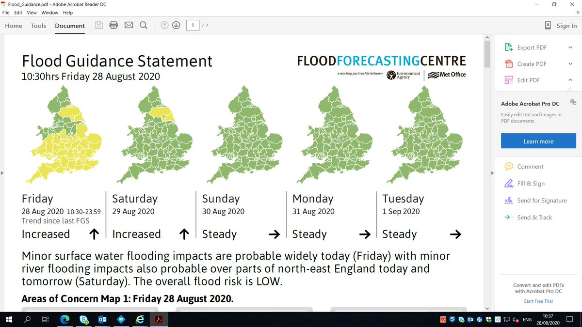 Forecast of flooding for today, remember cars are for roads & boats are for water #drivetoarrive