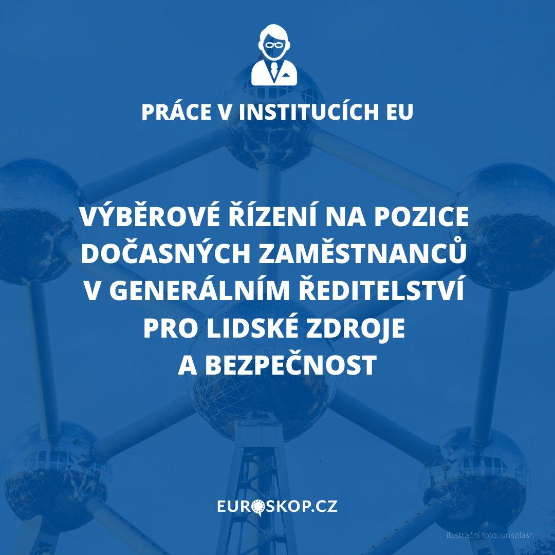 Zajímáte se o #EU a chcete se jí věnovat i profesně? Mohla by vás zaujmout následující nabídka ➡️ https://t.co/OKjWUxLceX 🇧🇪 Místo výkonu pracovní pozice: Brusel ⏰ Uzávěrka pro přihlašování: 14. září 2020 #kariera #nabidka #zamestnani #pracevEU #karieravEU #Euroskop https://t.co/dvsDqGlE3D