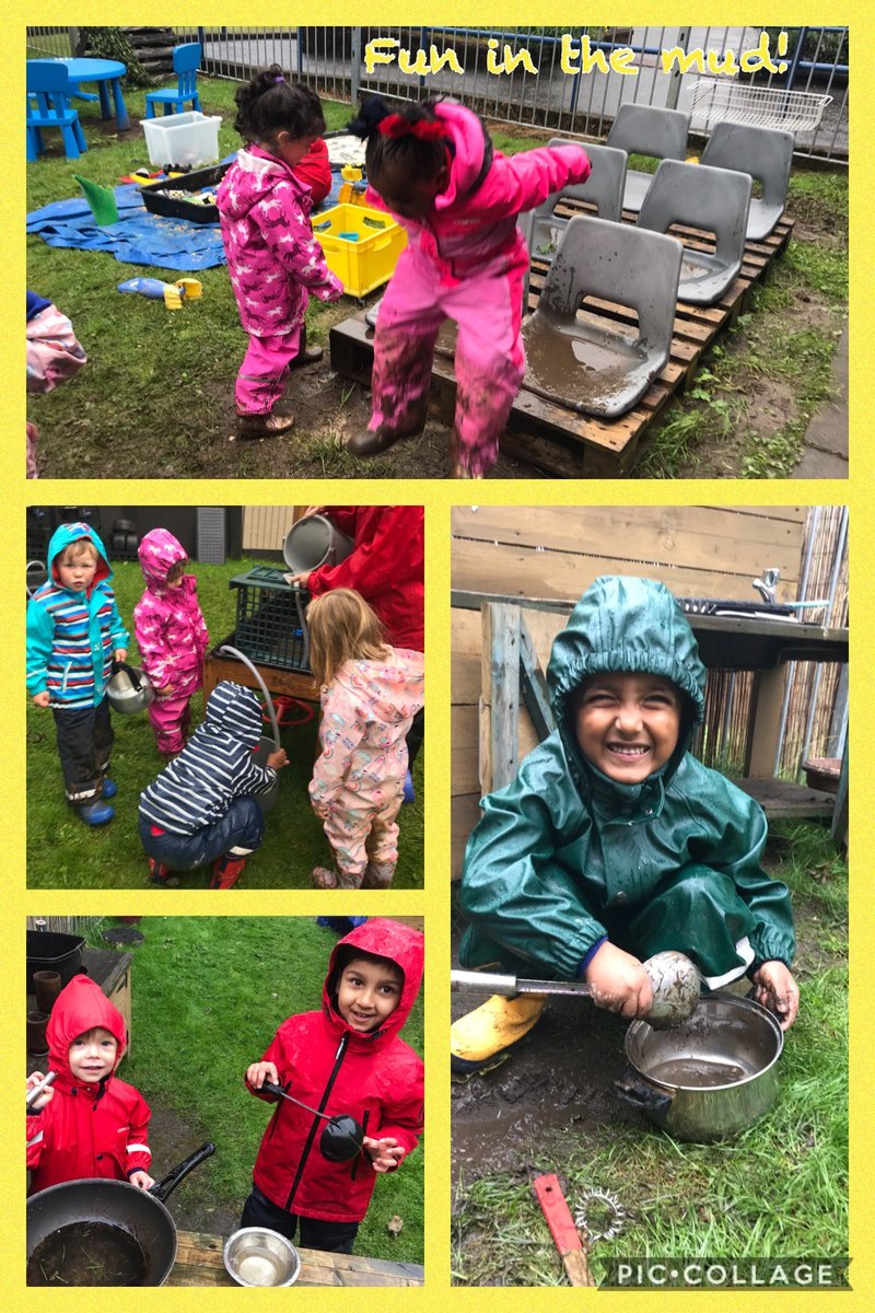 Suited and booted, our youngest Hutchesonians have had terrific fun in the 'muddy garden' this week - the mud cafe menu is delicious! #SchoolValues #Creativity #Curiosity https://t.co/e0OqOVEWJI