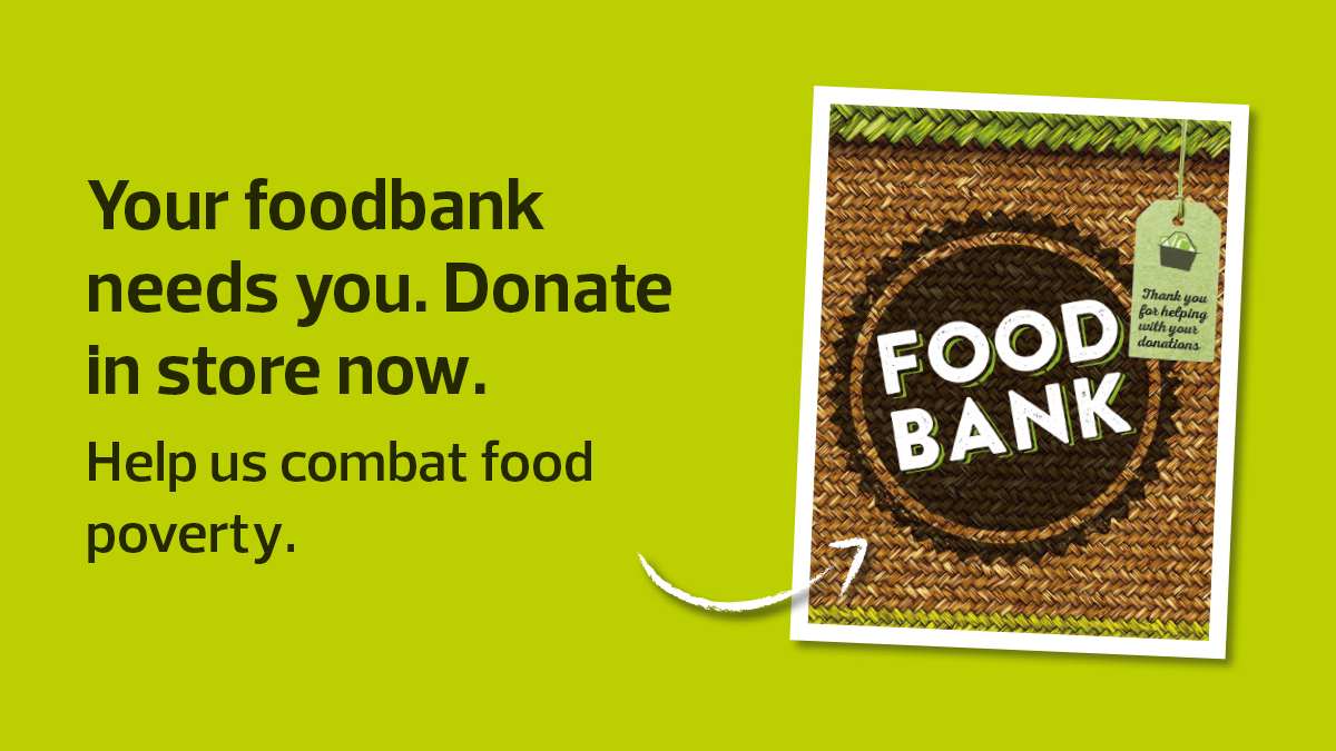 Today is the last day of our donation drive for our local Foodbanks. If you pop in to your local store today, please help the Foodbank and donate an item that they need. To find your local Foodbank and what they need, visit👉  https://t.co/zZxjhflBgX https://t.co/xXVqMqsk2o