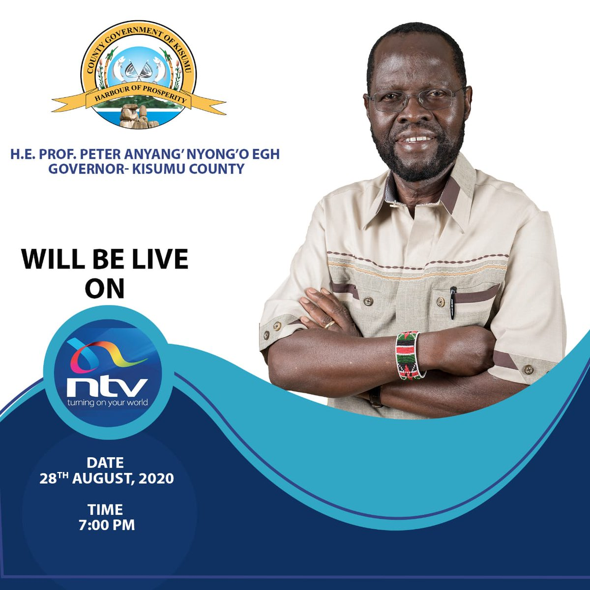 I will be live on @ntvkenya as from 7 pm tonight to share my thoughts on Katiba @10   #Katiba10YearsLater  #KatibaAt10 https://t.co/JmcMOl6Dn0