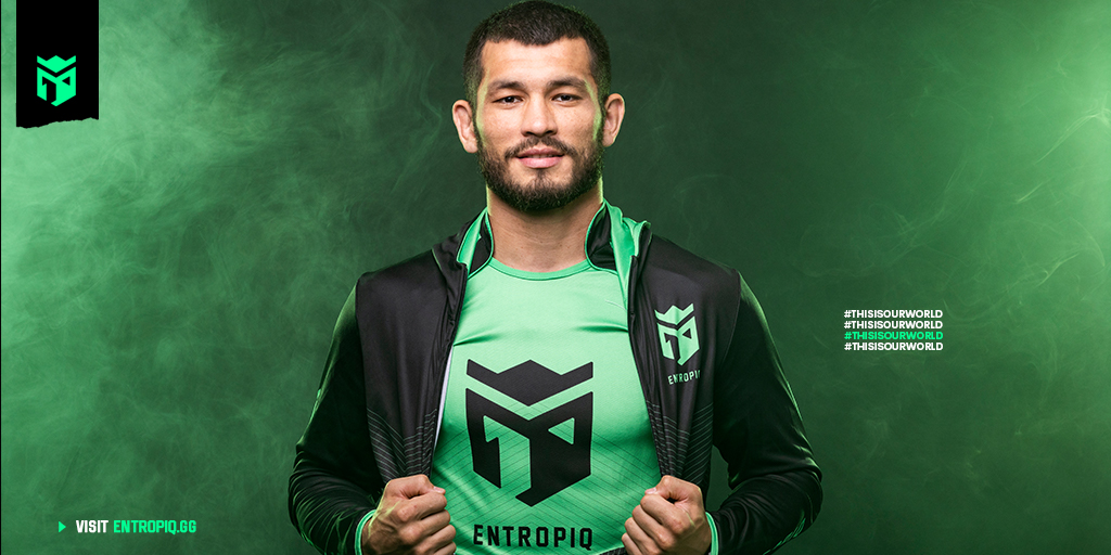 Entropiq is proud to announce that @ufc fighter @MakhmudMuradov is joining the team as an ambassador.  Welcome to the team, Mach. 💪  🟢⚫ #MMA #thisisourworld 🟢⚫ https://t.co/7F34E0ecM7