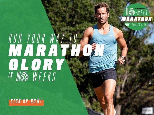 Run Your Way To Marathon Glory In 16 Weeks! --> https://t.co/wr2Q8HcplQ https://t.co/mAHyZQaGEI