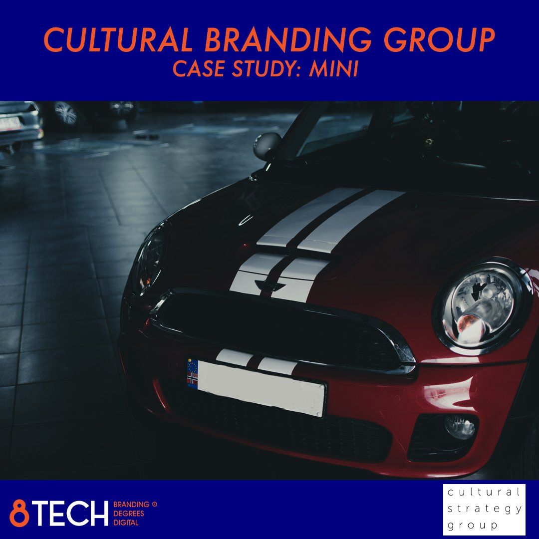 Mini risked becoming a fads and fashion brand that would die out. Set ip as a fashion-centred and childlike brand, doomed to a short lifespan. BMW hired the cultural branding group to develop a new global strategy based on the cultural branding model.  #marketing #branding https://t.co/K9ALSpsmtT