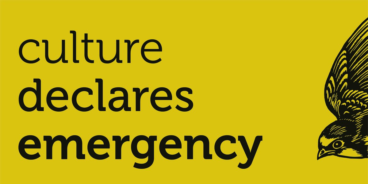 🌍 We can only address the climate and ecological emergency through changing the way we live and work, and that includes the screen industries. That is why we're part of @CultureDeclares. Stay tuned - next week we'll be publishing #ScreenNewDeal, a major new report #BFIIndustry