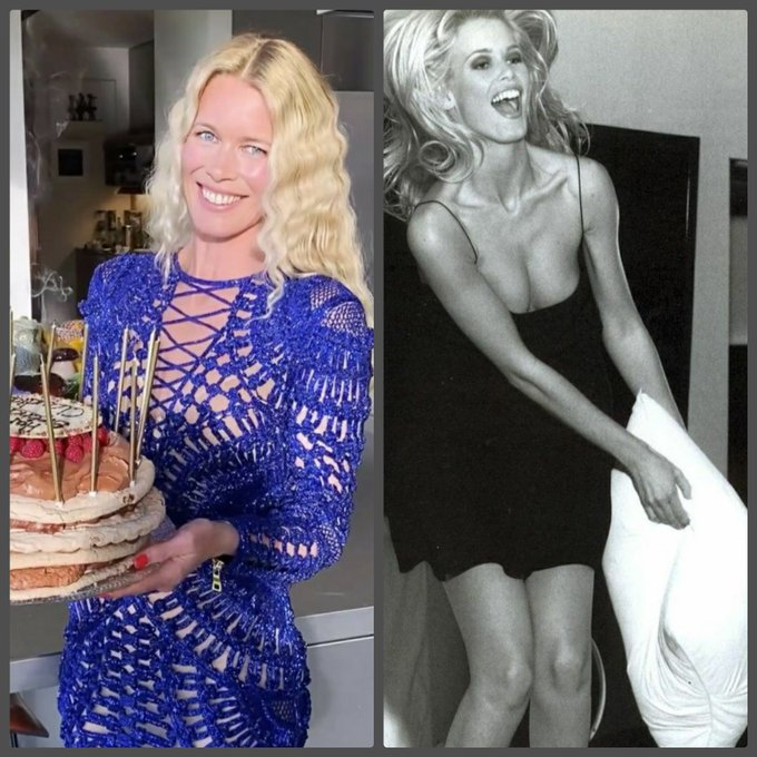 Happy birthday, Claudia Schiffer!