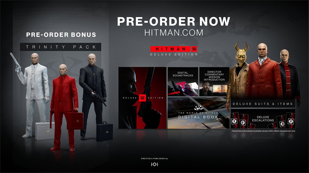 Hitman 3 On Twitter Agent 47 Returns In Hitman 3 January 20 2021 Death Awaits Pre Order Now Https T Co Hzqquffmrz