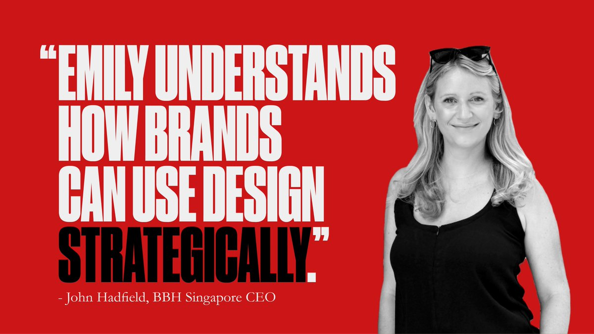 Welcome on board Emily Hudson, who joins our Singapore office as our new Business Development Director for Black Sheep Design.  Find out what she's got planned for BBH Singapore: https://t.co/yNvUj3u18t https://t.co/PZb5MbPfAe