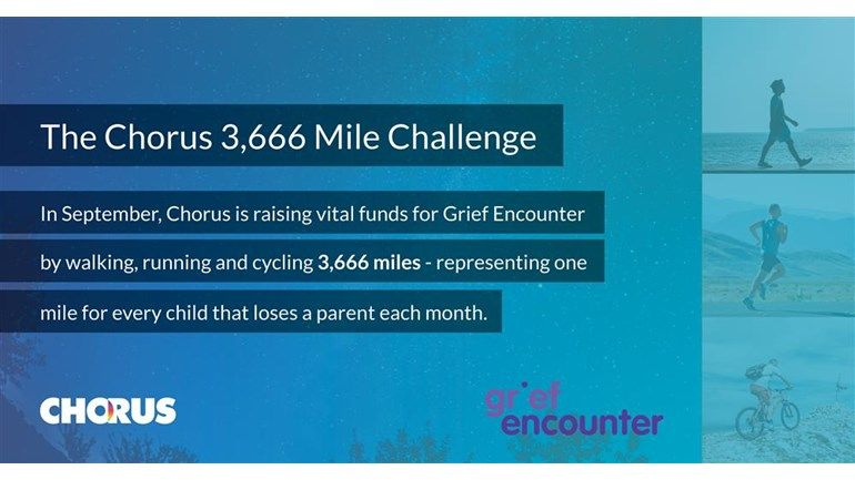 During September, we will be #fundraising for @griefencounter - an incredible child bereavement support #charity. 3,666 children tragically lose a parent each month and we will be clocking up 3,666 miles between us to raise money for this fantastic cause: https://t.co/b6mU8vCDxT https://t.co/mPrtBuEX0R