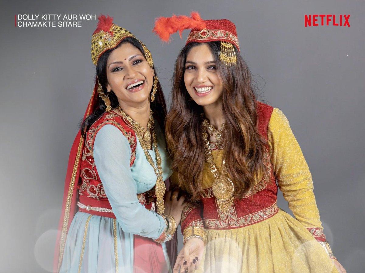 #DollyKittyAurWohChamakteSitare by @alankrita601, feat. @konkonas @bhumipednekar @masseysahib @amolparashar @kkundrra @KubbraSait #NeelimaAzim and @AamirBashir, premieres this September on @NetflixIndia.  @ektaravikapoor @balajimotionpic @RuchikaaKapoor